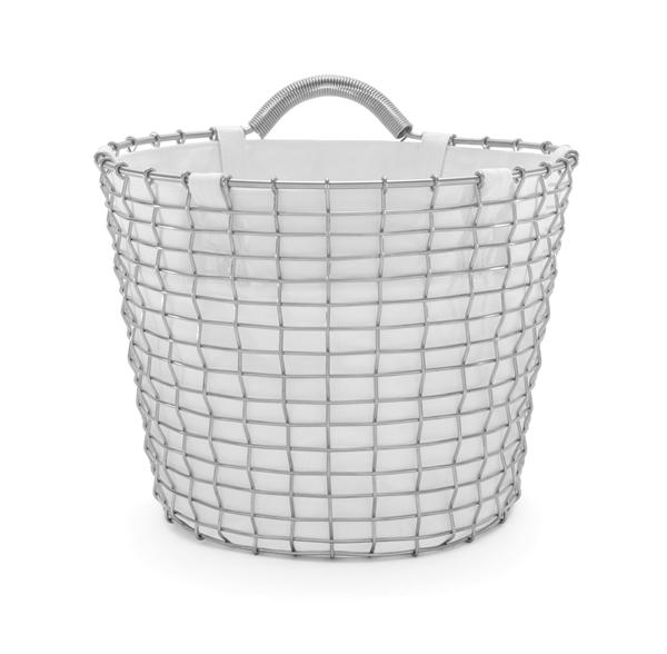 Basket liner white Bin 16 acid proof stainless