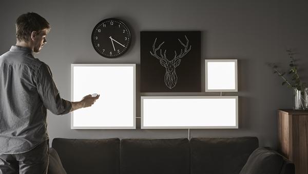 floalt_led_ljuspaneler IKEA Light