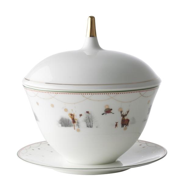 Julemorgen Gravy Bowl with Lid