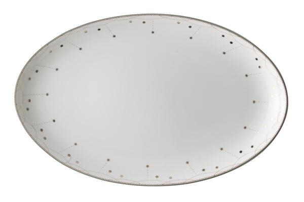 Julemorgen Oval Platter 39cm