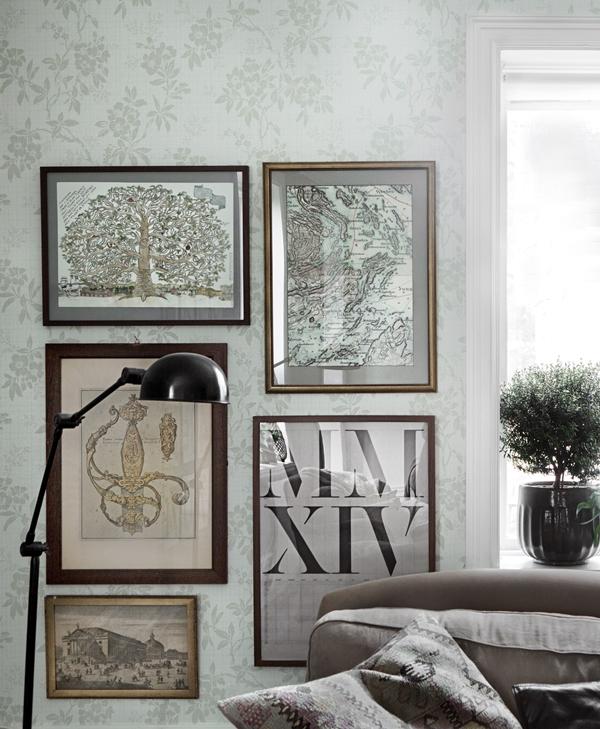 Sandberg wallpaper Vera 703-08