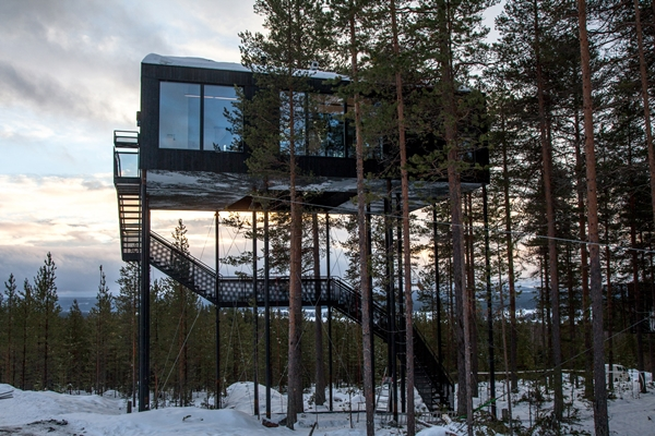 the-7th-room-tree-hotel-snohetta-sweden 2