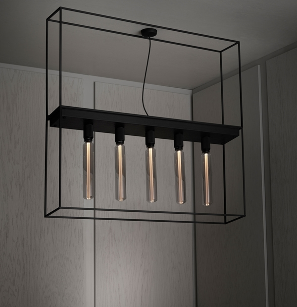 Buster-Punch-CAGED-Ceiling-Light-5.0-Flamed-Black-Granite-Extension-Cage