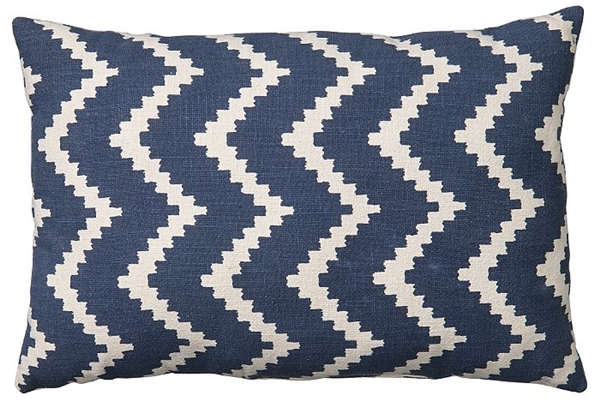 Chhatwal and Jonsson cusion Ikat Sema indor outdoor water repellent grey 40x60 495sek OIC310144-9_aRGB