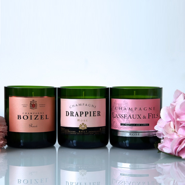 rosa champagne doftljus trendsisters