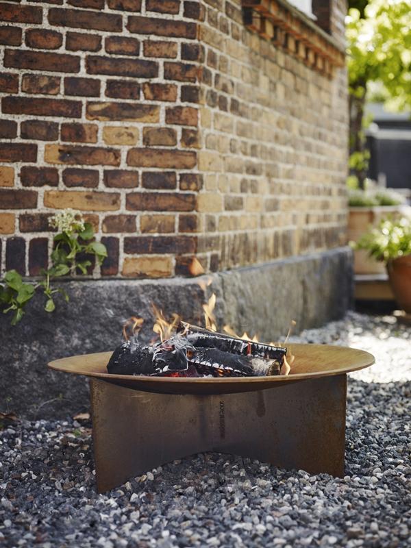 1810541 Flame Firebowl Ø75