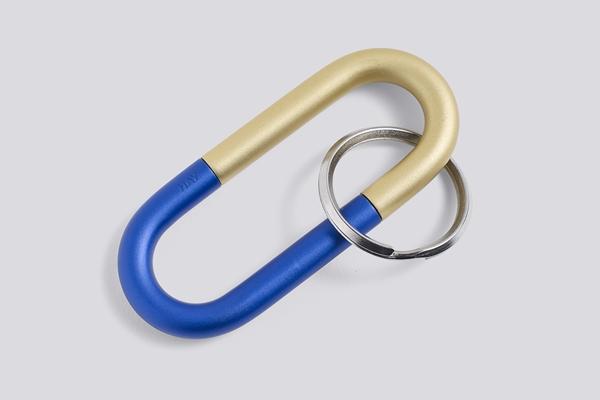Cane Key Ring blue