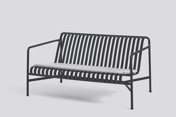 Palissade Lounge Sofa Anthracite Seat Cushion sky grey