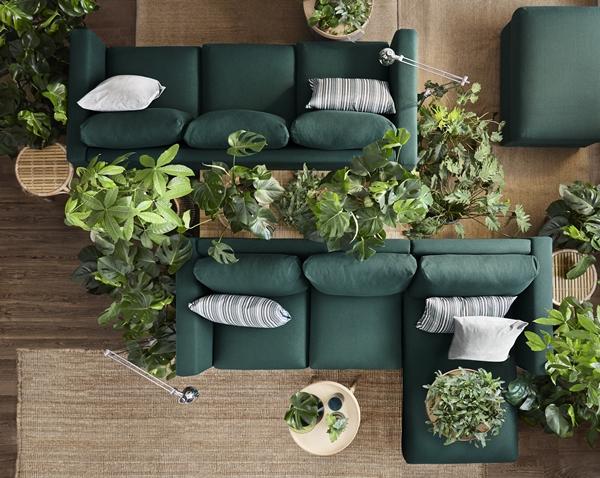 IKEA_VIMLE_3-sits_soffa_GUNNARED_morkgron_PH143409