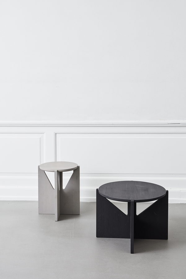 KristinaDam_stool_table_grey_black