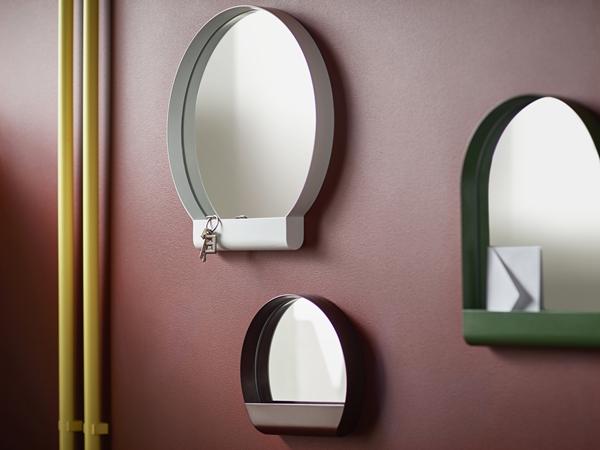 IKEA_YPPERLIG_spegel_vit_gron_morkrod_PH146033