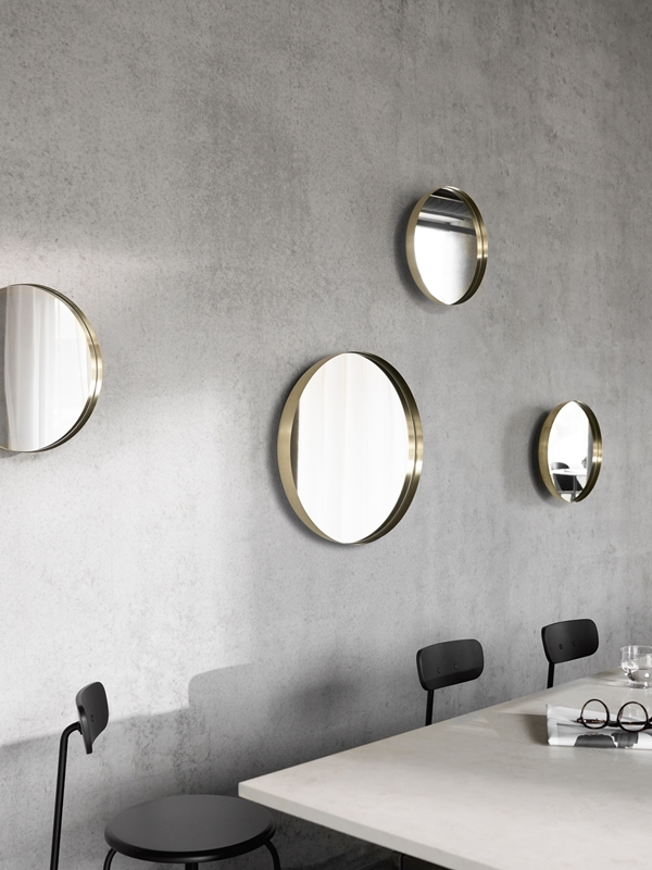 MENU Darkly Mirror, Afteroom Chair