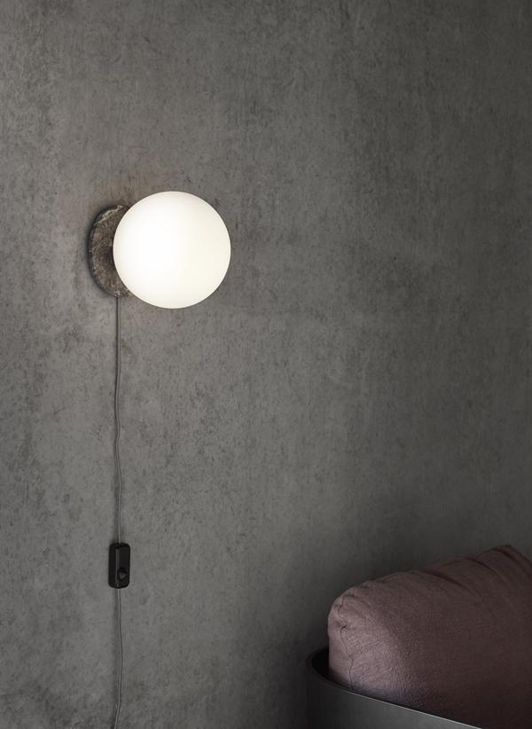 MENU TR Bulb, Marble, Wall (1)