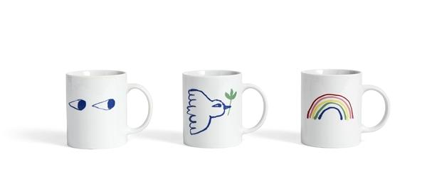 White Mug family