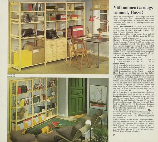 IKEA_katalogsida_1973_valkommen_i_vardagsrumme_Bosse_sid90-1
