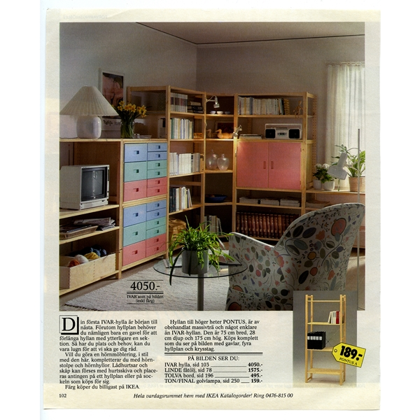IKEA_katalogsida_1987_IVAR_hylla_sid102