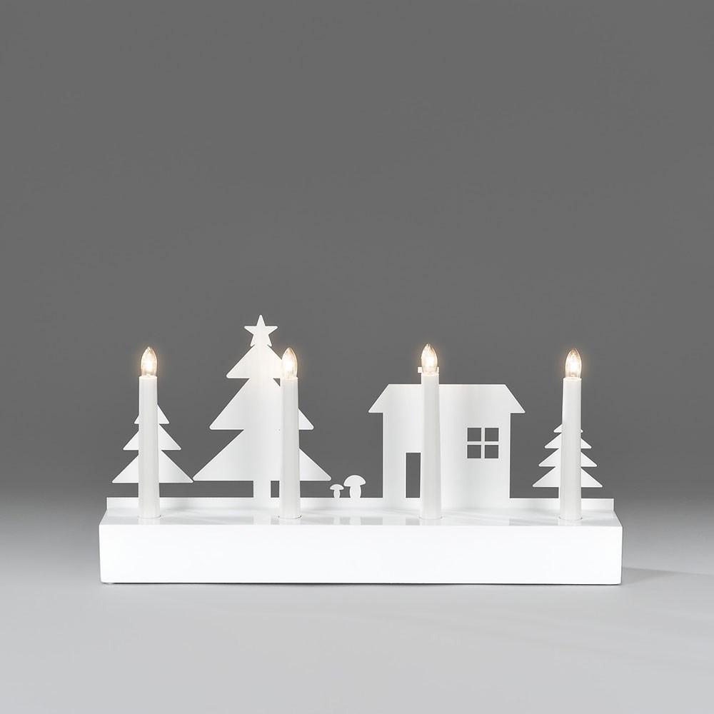 ljusstake-konstsmide-4-ljus-vit-med-motiv