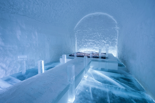 Art suite: Franziska Agrawal , ICEHOTEL 365