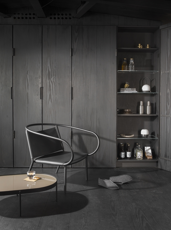 MENU - NoNo Table Afteroom Lounge Chair