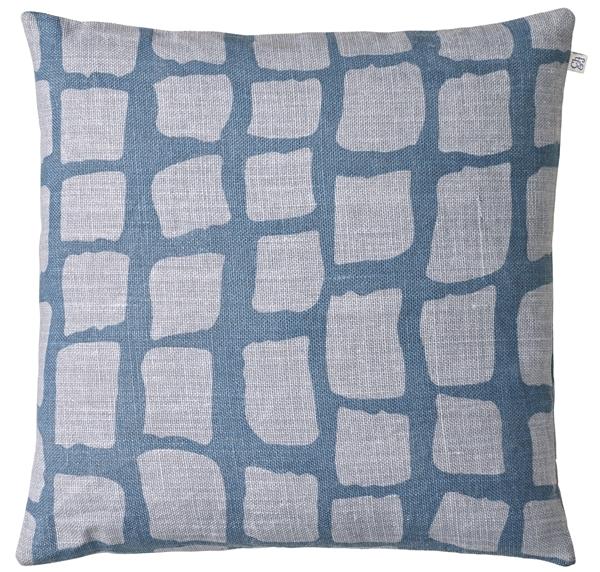 Chhhatwal and Jonsson cushion Anich linen 50x50 blue light blue 650sek
