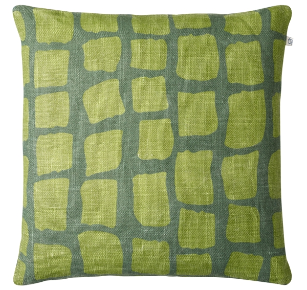 Chhhatwal and Jonsson cushion Anich linen 50x50 green cactus green 650sek