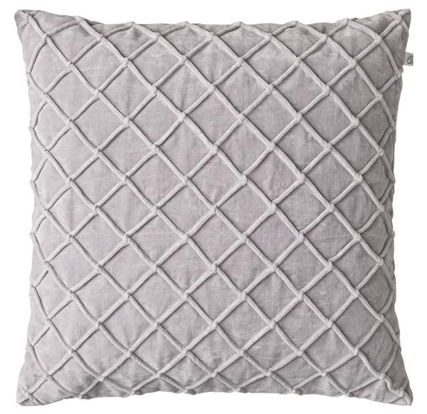 Chhhatwal and Jonsson cushion Deva Velvet 50x50 silver grey 695sek