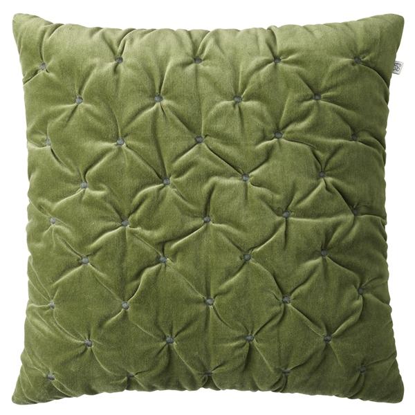 Chhhatwal and Jonsson cushion Mini Dot Velvet 50x50 cactus green green 650sek