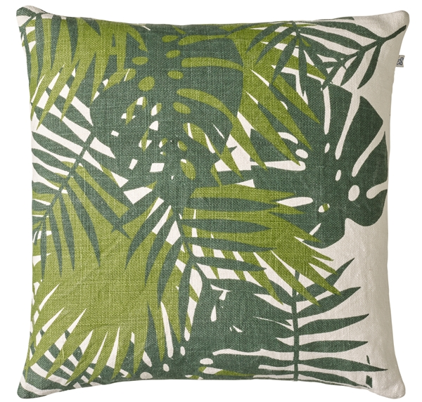 Chhhatwal and Jonsson cushion Palm linen 50x50 green cactus green 650sek