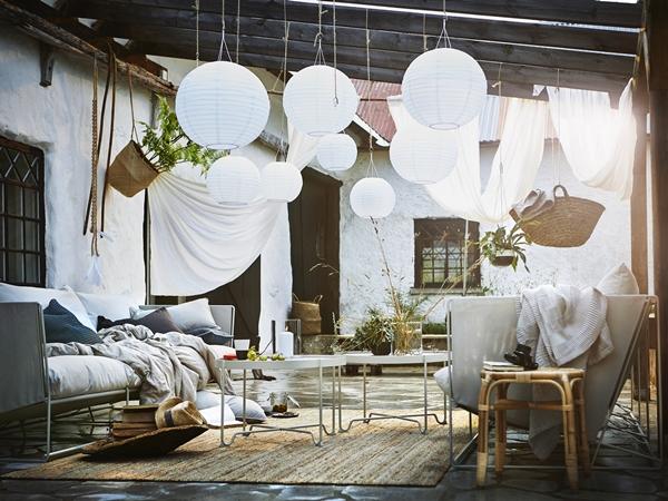 ljuvlig sommarinspiration fr n ikea 2018 februari dansk inredning och design. Black Bedroom Furniture Sets. Home Design Ideas