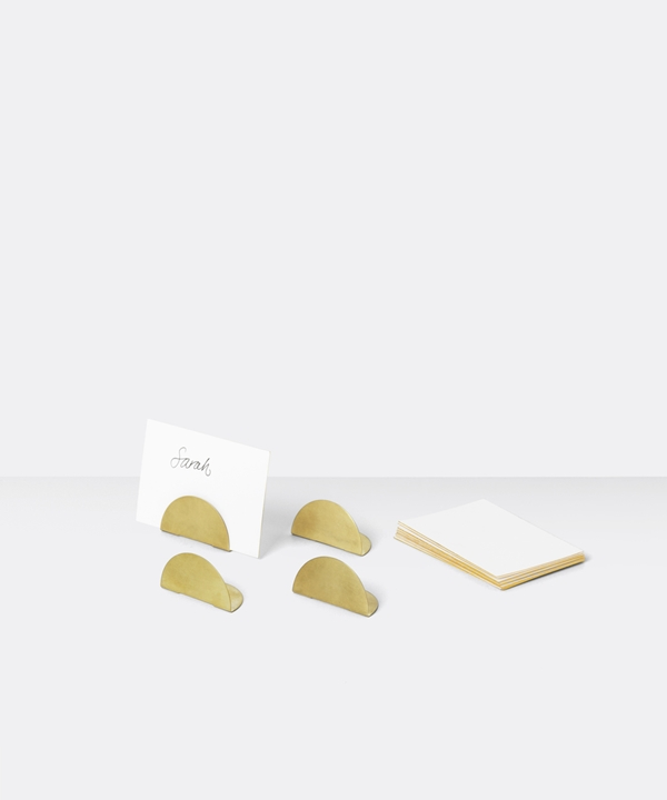 5760_Card holder incl 8 offwhite cards Brass_2
