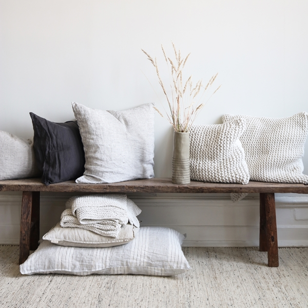 Cushions, Lille bench