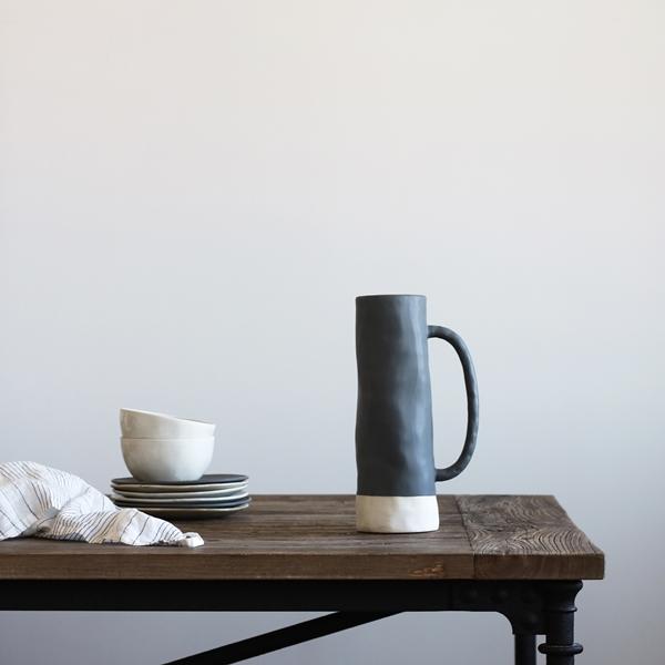 Lille vase grey